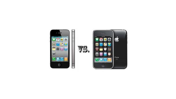 ตัวต่อตัว iPhone 3GS vs. iPhone 4
