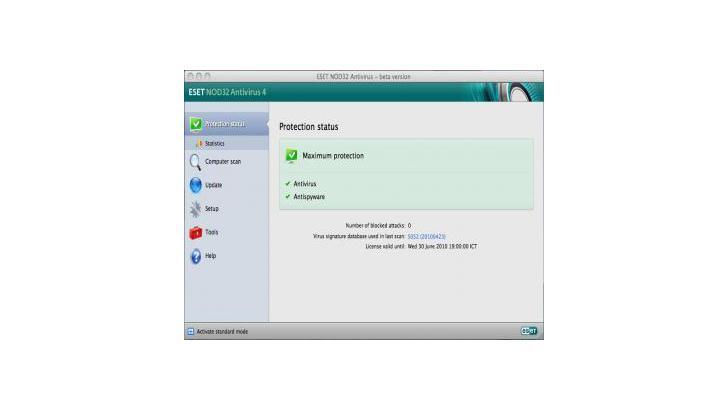 ESET NOD32 Antivirus 4 Business Edition for Mac OS X มาแล้ว!!