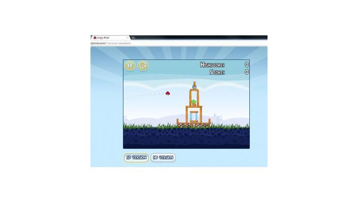 Angry Birds เล่นบน Google Chrome ได้แล้ว แถมยังมี Code โกงเกมส์หลุดออกมาแล้วด้วย !!!