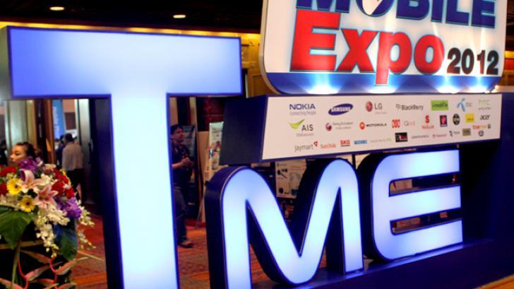 ไทยแวร์พาชมบรรยากาศงาน  Thailand Mobile Expo 2012