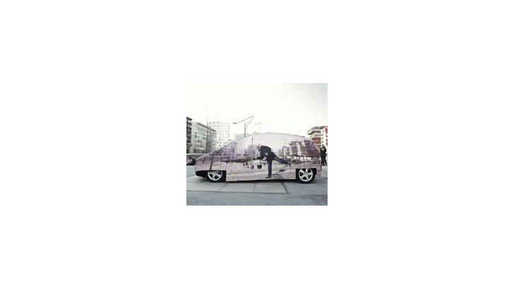 Mercedes Benz สร้างรถล่องหน โปรโมตพลังงานไฮโดรเจน