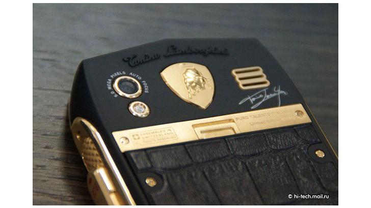โทรศัพท์และแท็บเล็ตสุดหรู จาก Lamborghini ค่ายยนตรกรรมระดับโลก