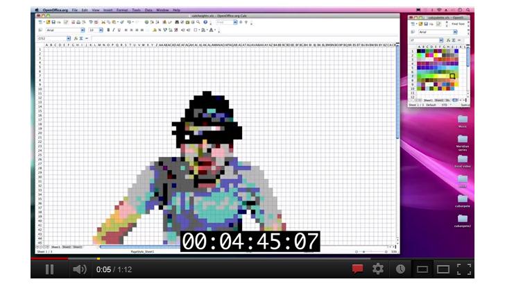 ขั้นเทพ ทำ Stop Motion ด้วยโปรแกรม Excel