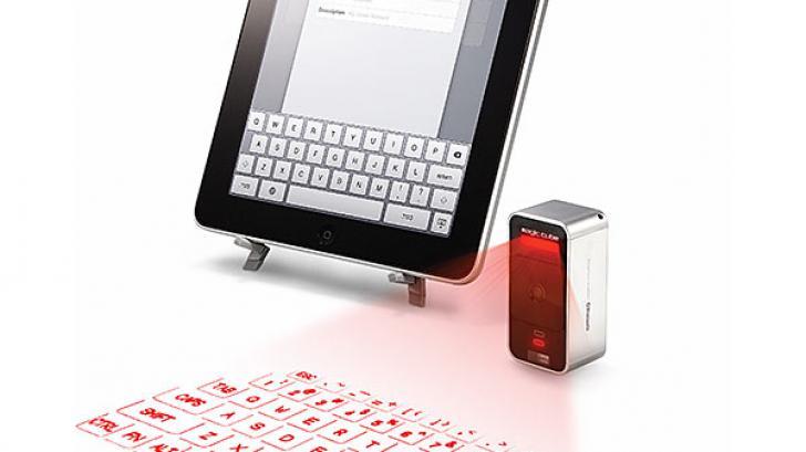 Cube Laser Virtual Keyboard คีย์บอร์ดพกพาที่ล้ำยุคที่สุดในโลกปัจจุบัน