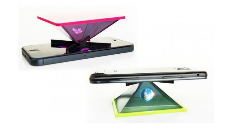 HOLHO สร้างภาพ Hologram 3 มิติ บน Smartphone และ Tablet อย่างง่ายดาย