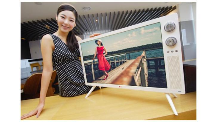 LG เปิดตัว HDTV ดีไซน์ Retro ออกแบบสวยและคลาสสิค