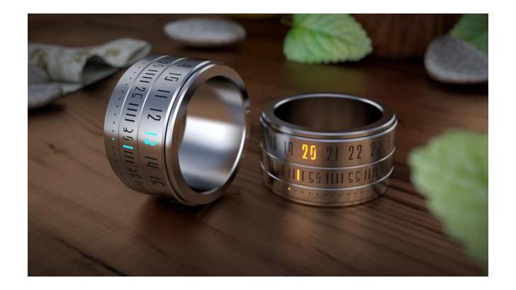 Ring Clock นาฬิกาสุดไฮเทค ที่สวยสะดุดทุกสายตา