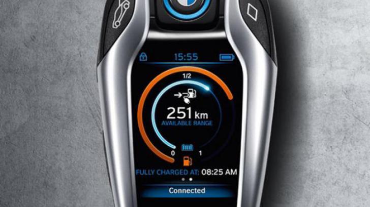 BMW เปลี่ยนโฉมปฏิวัติ กุญแจรถยนต์ ด้วย BMW i8
