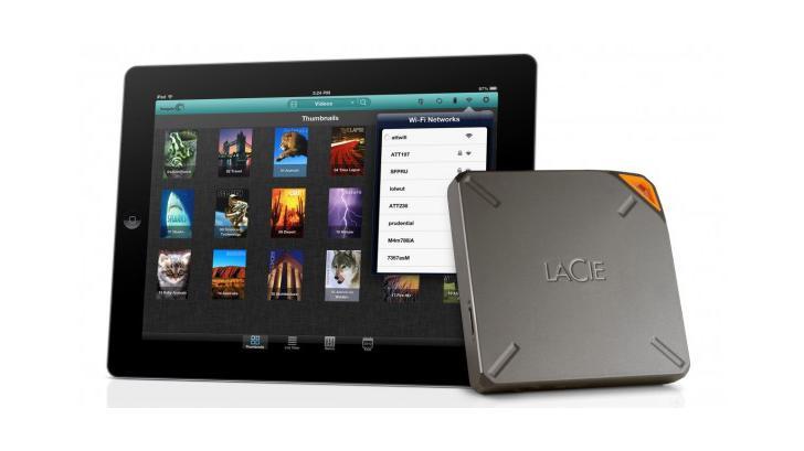 เพิ่มหน่วยความจำให้ iPad, iPhone ได้ถึง 1TB ด้วย Lacie Fuel
