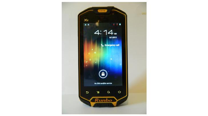 Runbo X5 แอนดรอยส์โฟนที่ทนที่สุดในโลก (มั้ง)
