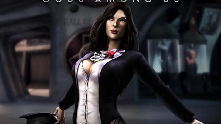 แฮกเกอร์จอมซนสืบข้อมูลเกมส์ Injustice: God Among Us บนมือถือ พบตัวละคร Zatanna แซงคิว Ares ให้ผู้เล่นได้สะสมกันก่อนแล้ว