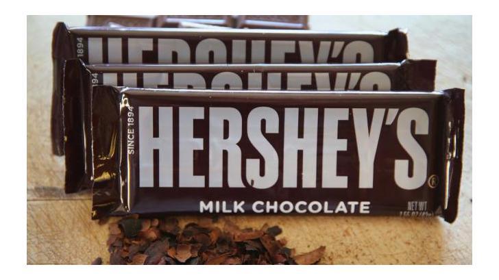 ช็อคโกแลตยี่ห้อดัง Hershey's เปลี่ยนโลโก้ใหม่ อนิจจาหน้าตาเหมือน...