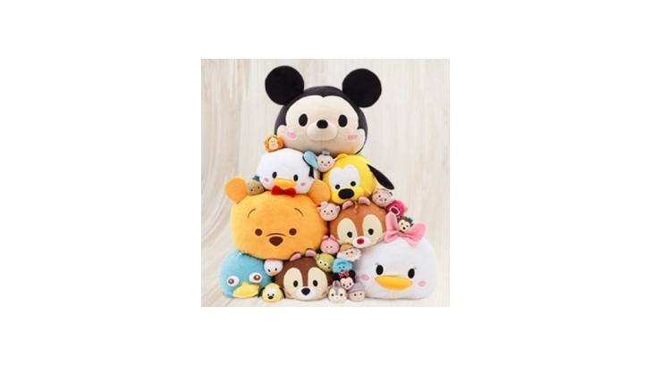 ตุ๊กตาพรีเมี่ยม Disney Tsum Tsum จากเกมส์ LINE ฮอตฮิต! ขายไปแล้วกว่า 1.6 ล้านตัว