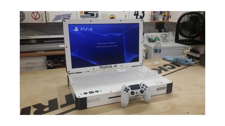 PLAYBOOK 4 เล่น PlayStation 4 แบบพกพาในสไตล์โน๊ตบุ๊ค