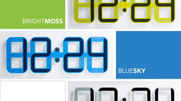 ClockONE นาฬิกาติดผนังสุดชิค โดดเด่นด้วยจอ e-ink ขนาดยักษ์