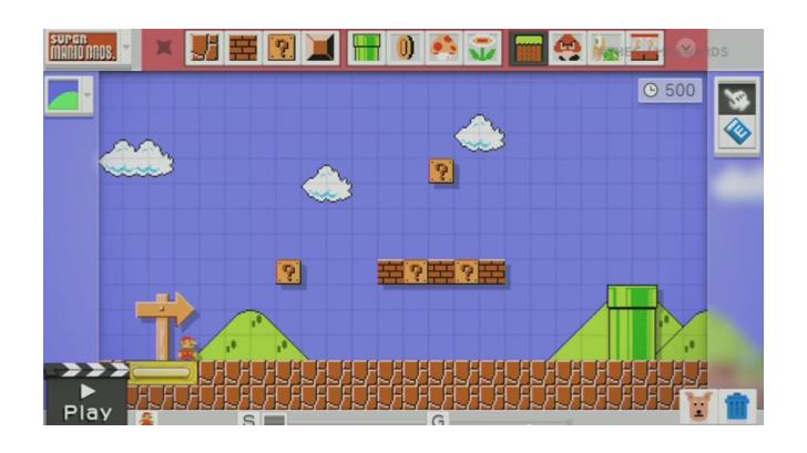 Nintendo โชว์เกม Mario Maker เกมที่ผู้เล่นสามารถสร้างด่านมาริโอได้ตามใจอย่างอิสระ