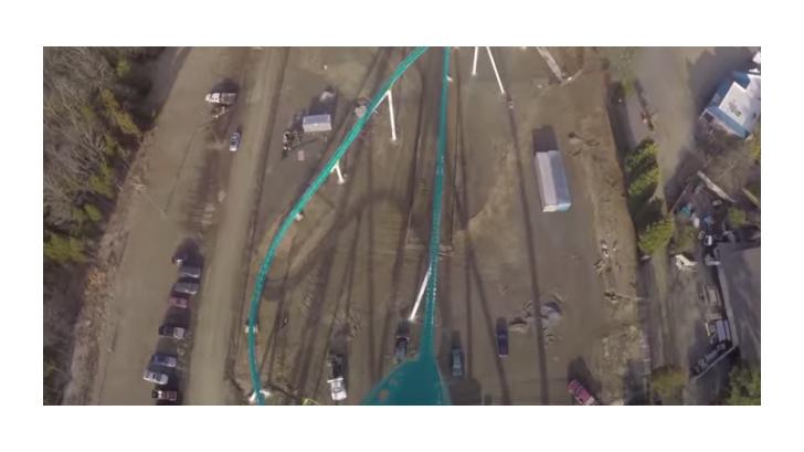 มาชมวิดีโอการเล่นรถไฟเหาะตีลังกา ที่มีความชันมากถึง 100 เมตร ว่าจะหวาดเสียวขนาดไหน