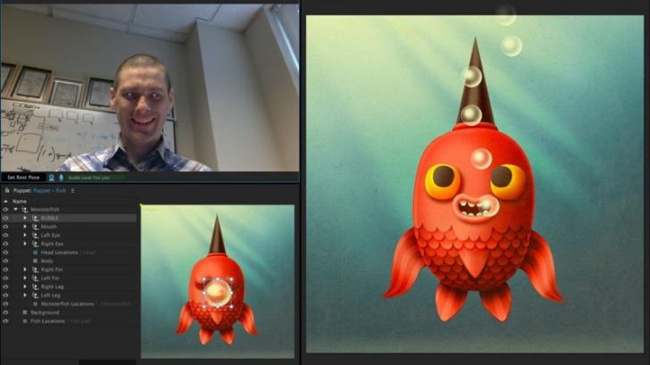 Adobe Character Animator โปรแกรมใหม่สุดแจ่ม สร้างอนิเมชั่นด้วยกล้อง WEbcam