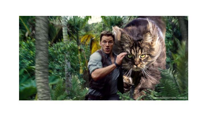 จะเป็นอย่างไร หากหนัง Jurassic World ไม่มีไดโนเสาร์ แต่เป็นแมวแทน
