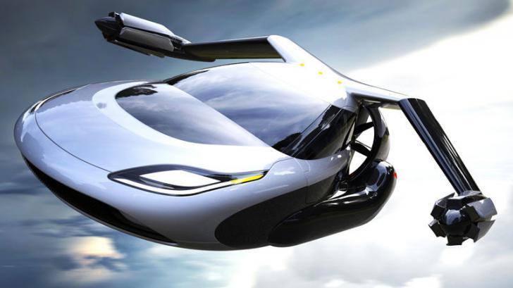 รถแห่งอนาคต สุดไฮเทคฯ บินได้ด้วยความเร็วสูง Terrafugia TF-X