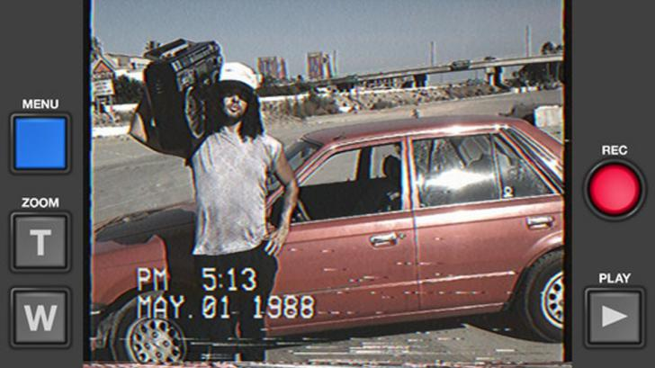 ฮิปสเตอร์ห้ามพลาด VHS Camcorder แอปฯ ลดคุณภาพวิดีโอให้ต่ำลงเหมือนม้วนเทปโบราณ