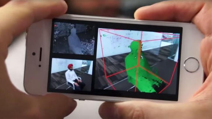 MobileFusion แอปฯ สุดล้ำ เปลี่ยนสมาร์ทโฟนเป็นเครื่องสแกนเนอร์แบบ 3 มิติ