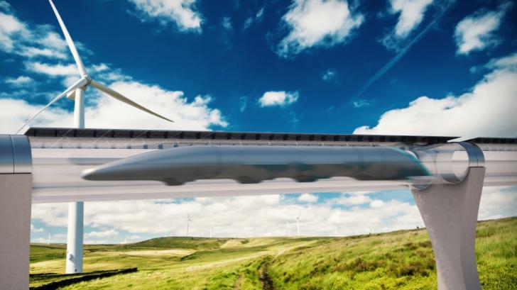 เดินทางที่ความเร็ว 1,125 กิโลเมตรต่อชั่วโมงด้วย Hyperloop!!!