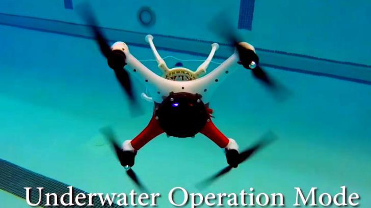 Loon Copter โดรนพันธุ์ใหม่ บินก็ได้ ดำน้ำก็ดี