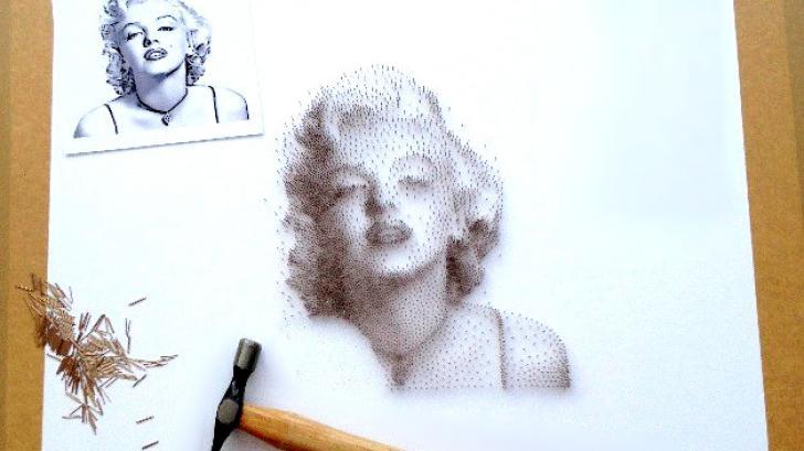 การตอกตะปู อาร์ตขั้นเทพ ! สร้างภาพศิลปะในแบบที่สวยงาม น่าสนใจ และไม่มีใครเหมือน