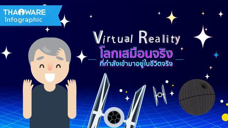 เทคโนโลยี VR โลกเสมือนจริง ที่กำลังเข้ามาอยู่ในชีวิตจริง [Thaiware Infographic ฉบับที่ 32]