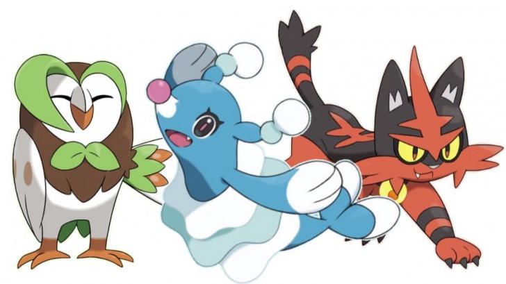 เปิดเผยแล้ว ร่างพัฒนาของโปเกม่อนตัวหลัก ใน Pokémon Sun/Moon