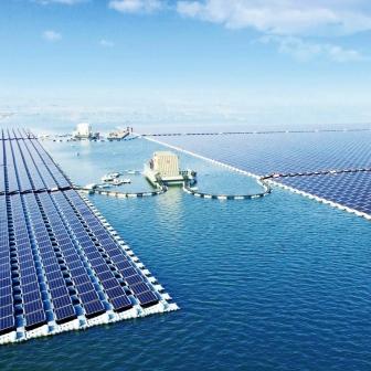 จีนไม่เคยน้อยหน้าใคร ล่าสุดเผยโครงการโรงงานไฟฟ้าโซลาร์เซลล์ลอยน้ำ ใหญ่ที่สุดในโลก