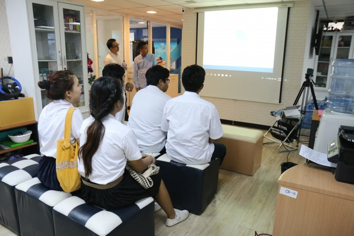 ไทยแวร์ เปิดบ้านต้อนรับ นักศึกษาคณะวิทยาการจัดการ ม.ศิลปากร เรียนรู้การบริหารจัดการเว็บไซต์