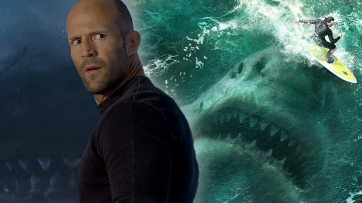 ทุ่มสุดๆ Jason Statham ถ่ายทำกับ ฉลามตัวเป็นๆ ในหนังเรื่อง The Meg