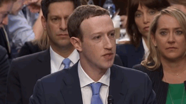 บันทึกการตอบคำถามของ Mark Zuckerberg ที่ชี้แจงต่อวุฒิสภาเรื่องการดูแลข้อมูลบน Facebook