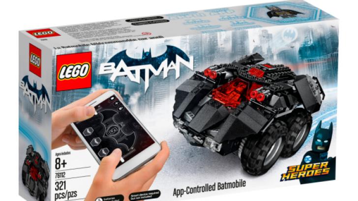 Lego เปิดตัวซีรี่ส์ของเล่นไฮเทคใหม่ ประเดิมชุดแรกด้วย Batmobile รถบังคับผ่านสมาร์ทโฟน