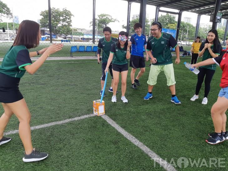 THAIWARE จัดกิจกรรมแข่งขันกีฬาสีพนักงาน Sport Day 2018