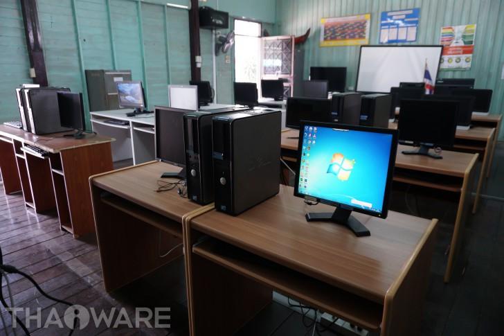 กิจกรรม ไทยแวร์ครบรอบ 20 ปี ซ่อมบำรุงห้องคอมฯ พื้นที่โรงเรียน และร่วมกิจกรรมวันเด็ก โรงเรียนบ้านหนองแสง จังหวัดฉะเชิงเทรา