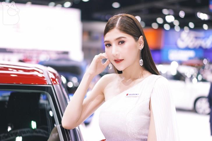 รวมภาพ และวีดีโอพริตตี้สาวสวยจากงานมอเตอร์โชว์ Bangkok International Motor Show 2019