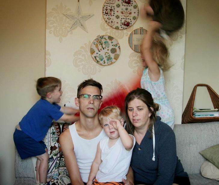 15 ภาพที่จะทำให้เราได้เห็นถึงความป่วน ชวนปวดหัวของการมีครอบครัว