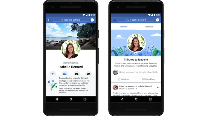 Facebook เพิ่มแท็บไว้อาลัยบนบัญชีของผู้ใช้ที่เสียชีวิตไปแล้ว