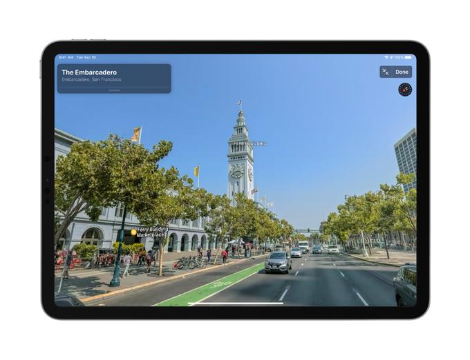 Apple Maps รูปแบบใหม่พร้อมใช้งานแล้ววันนี้ (ในอเมริกา)