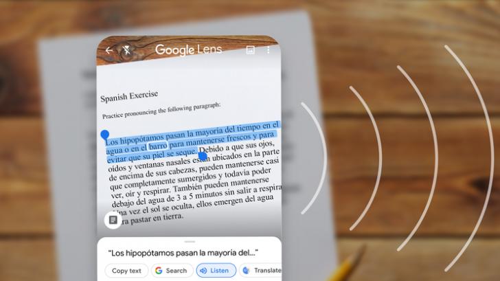 Google Lens อัปเดตฟีเจอร์ใหม่ สแกน อ่านออกเสียงข้อความ และ copy ลายมือลงคอมพิวเตอร์ได้