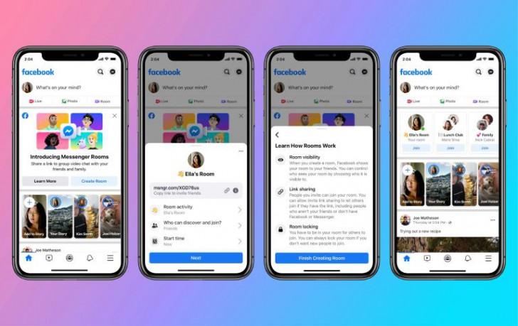 เปิดตัว Messenger Room ห้องวิดีโอแชทแบบกลุ่มจาก Facebook