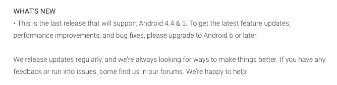 Dropbox ประกาศหยุดสนับสนุนแอปบนระบบ Android 5.0 หรือต่ำกว่าแล้ว