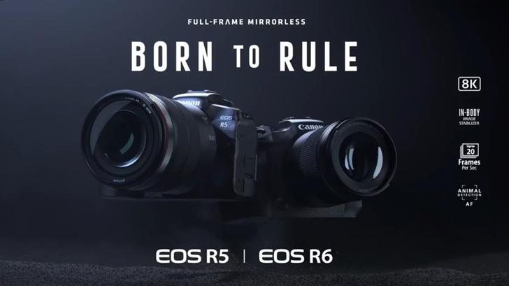 แคนนอนเปิดตัว Canon EOS R5 และ EOS R6 กล้อง Mirrorless ผู้มาพร้อมการถ่ายวิดีโอ 8K และเซ็นเซอร์ระดับเทพ