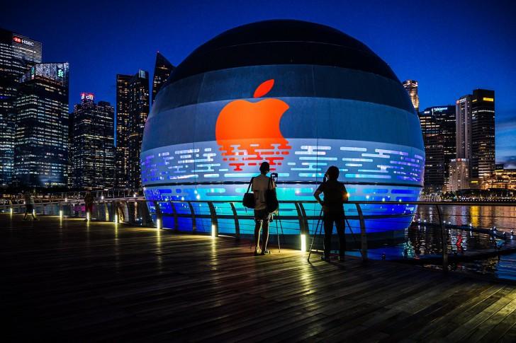เตรียมพบกับ Apple Store สาขา Marina Bay Sands สิงคโปร์ เร็วๆ นี้ ด้วยดีไซน์โดมลอยน้ำแห่งแรก