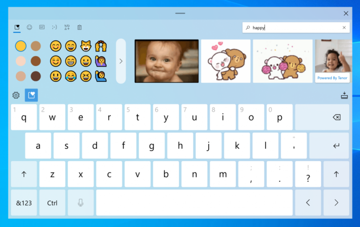Microsoft เพิ่มฟีเจอร์ใหม่ Touch Keyboard บน Windows 10