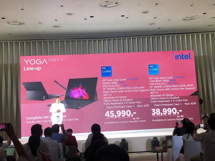 Lenovo ขนแบรนด์ YOGA แล็ปท็อประดับพรีเมียมไลน์อัพใหม่มาเปิดตัวในไทยเพียบ
