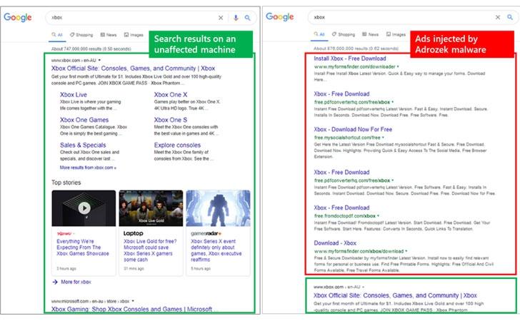 Adrozek มัลแวร์ยัดโฆษณาลงเว็บเบราว์เวอร์ ระบาดหนักบน Chrome, Firefox และ Edge